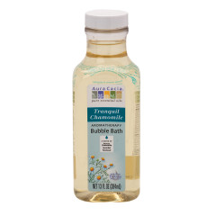 AURA CACIA TRANQUIL CHAMOMILE BUBBLE BATH 13 OZ BOTTLE