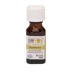 AURA CACIA ESSENTIAL ROSEMARY OIL 0.5 OZ BOTTLE