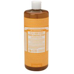 DR. BRONNER'S CITRUS ORANGE SOAP 32 OZ BOTTLE