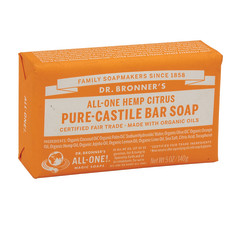 DR. BRONNER'S CITRUS ORANGE MAGIC BAR 5 OZ SOAP