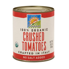 BIONATURAE ORGANIC CRUSHED TOMATOES 28.2 OZ CAN