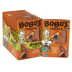 BOBO'S TOAST'R PASTRY CHOCOLATE PEANUT BUTTER 2.5 OZ