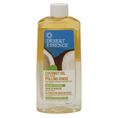 DESERT ESSENCE - COCONT OIL PULL RINSEDUL PH - 8OZ