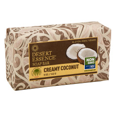 DESERT ESSENCE CREAMY COCONUT 5 OZ SOAP BAR
