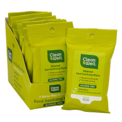 CLEANWELL HAND SANITIZING WIPES PACKET