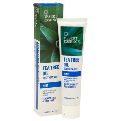 DESERT ESSENCE - MINT TEA TRR TOOTHP - 6.25OZ