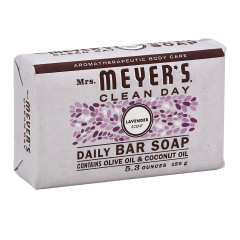 MRS. MEYER'S LAVENDER 5.3 OZ BAR SOAP