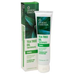 DESERT ESSENCE - FENNEL TEA TREE TTHPST - 6.25OZ