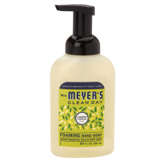 MRS. MEYER'S LEMON VERBENA FOAM HAND SOAP 10 OZ PUMP BOTTLE