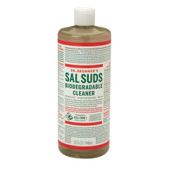 DR. BRONNER'S SAL SUDS LIQUID CLEANSER 32 OZ BOTTLE