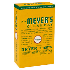 MRS. MEYER'S DRYER HONEYSUCKLE SHEETS