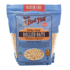 BOB'S RED MILL GLUTEN FREE ROLLED OATS THICK 32 OZ POUCH