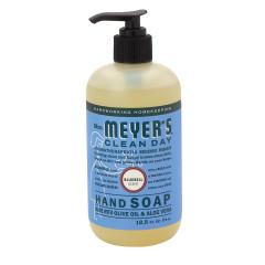 MRS. MEYER'S BLUEBELL LIQUID HAND SOAP 12.5 OZ PUMP BOTTLE