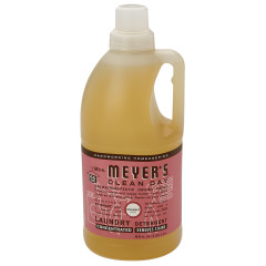 MRS. MEYER'S ROSEMARY 2X LAUNDRY DETERGENT 64 OZ JUG