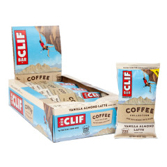CLIF BAR - VANILLA ALMOND LATTE - 2.4OZ