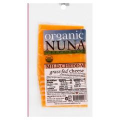 ORGANIC NUNA - MILD CHEDDAR CHEESE PRE - SLICED - 5OZ