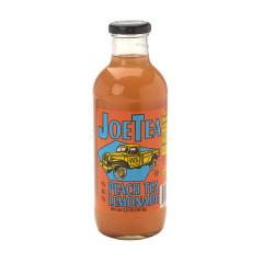 JOE TEA HALF & HALF PEACH TEA 20 OZ BOTTLE