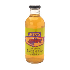 JOE TEA LOW SUGAR GREEN TEA 20 OZ BOTTLE