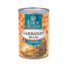 EDEN ORGANIC GARBANZO BEANS 15 OZ CAN