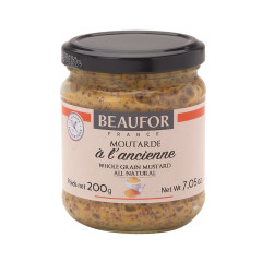 DIVINA BEAUFOR A L'ANCIENNE WHOLE GRAIN MUSTARD 7.05 OZ JAR