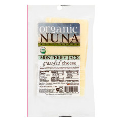 ORGANIC NUNA - MONTREY JACK CHEESE PRE - SLICED - 5OZ