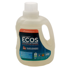EARTH FRIENDLY ECOS MAGNOLIA & LILY LAUNDRY DETERGENT 100 OZ BOTTLE