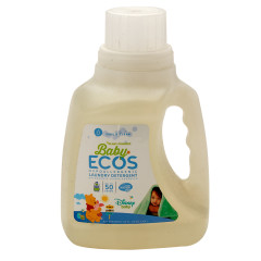 EARTH FRIENDLY ECOS BABY FRAGRANCE FREE DISNEY LAUNDRY DETERGENT 50 OZ BOTTLE
