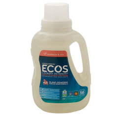 EARTH FRIENDLY ECOS MAGNOLIA & LILY LAUNDRY DETERGENT 50 OZ BOTTLE
