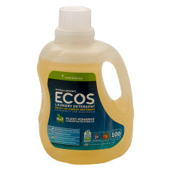 EARTH FRIENDLY ECOS LEMONGRASS LAUNDRY DETERGENT 100 OZ BOTTLE