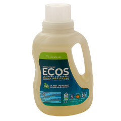EARTH FRIENDLY ECOS LEMONGRASS LAUNDRY DETERGENT 50 OZ BOTTLE