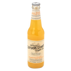 BRUCE COST PASSION FRUIT TURMERIC GINGER ALE 12 OZ BOTTLE