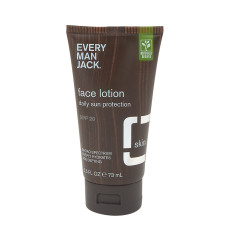 EVERY MAN JACK SPF 20 FACE LOTION 2.5 OZ TUBE