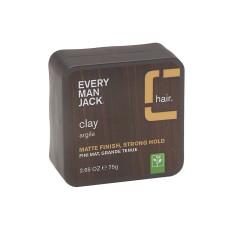 EVERY MAN JACK HAIR STYLING CLAY 2.65 OZ TUB