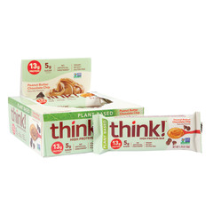 THINK! - PLANT BASED - PEANUT BUTTER CHOCOLATE CHIP - 1.78OZ