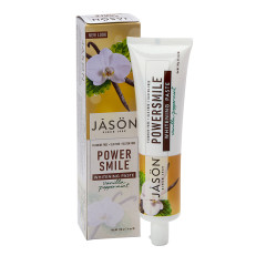 JASON POWER SMILE VANILLA MINT TOOTHPASTE 6 OZ TUBE