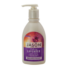 JASON LAVENDER SATIN BODY WASH 30 OZ PUMP BOTTLE