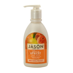 JASON APRICOT SATIN BODY WASH 30 OZ PUMP BOTTLE