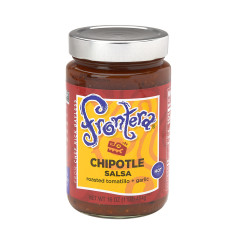 FRONTERA CHIPOTLE HOT SALSA 16 OZ JAR