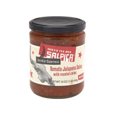 SALPICA TOMATO JALAPENO MEDIUM SALSA 16 OZ JAR