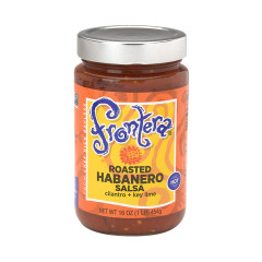 FRONTERA HABANERO VERY HOT SALSA 16 OZ JAR