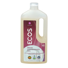 EARTH FRIENDLY WAVE LAVENDER AUTO DISHWASHER GEL 40 OZ JUG