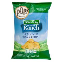 POP! GOURMET - HIDDN VALLEY RANCH CHIPS - 7.5OZ