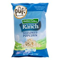 POP! GOURMET - HIDDN VALLEY RANCH POPCORN - 4.5OZ