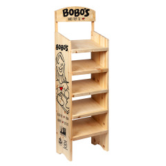 BOBO'S 15 BOX EMPTY FLOOR RACK
