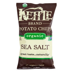 KETTLE ORGANIC SEA SALT POTATO CHIPS 5 OZ BAG