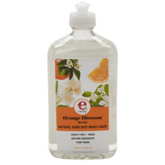 EARTHY ORANGE BLOSSOM DISH WASH LIQUID 17 OZ BOTTLE