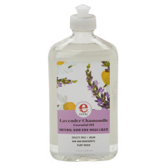 EARTHY LAVENDER CHAMOMILE DISH WASH LIQUID 17 OZ BOTTLE