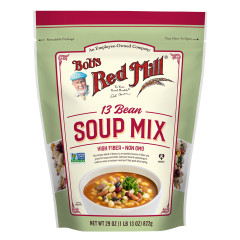 BOB'S RED MILL 13 BEAN SOUP MIX 29 OZ POUCH