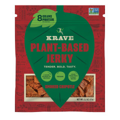 KRAVE - PLANT BASED JERKY - SMOKED CHIPOTLE - 2.2OZ