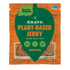 KRAVE PLANT BASED KOREAN BBQ JERKY 2.2 OZ POUCH
